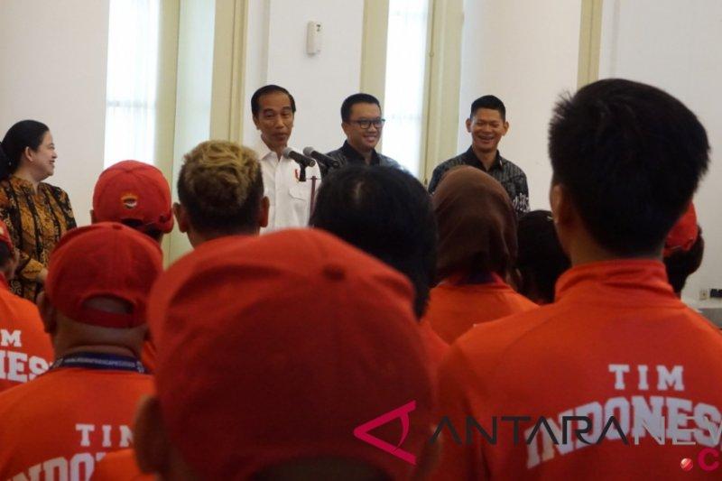 Presiden Jokowi apresiasi atlet Asian Para Games