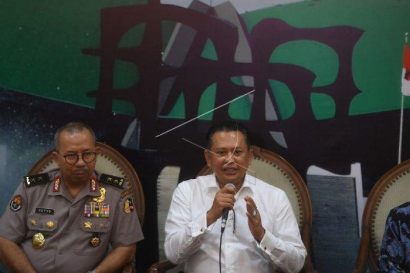 Terduga pelaku penembakan nyasar gedung DPR diperiksa, anggota Perbakin Tangerang Selatan