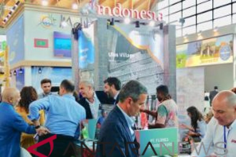 Warga Italia antusias kunjungi paviliun Indonesia