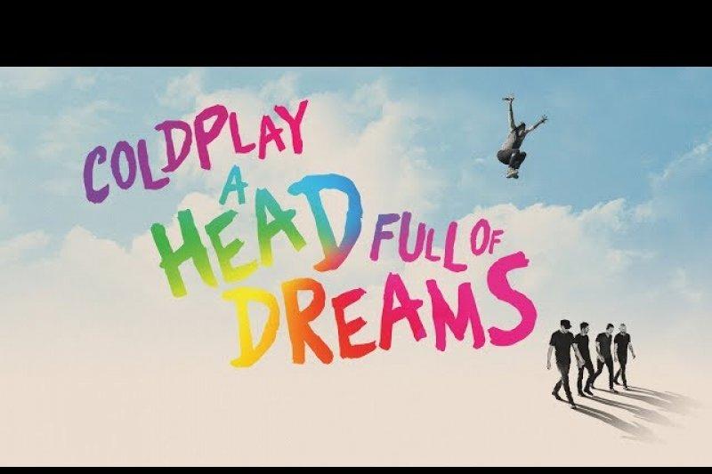 Hanya dalam satu malam, film Coldplay 'A Head Full Of Dreams' raup 51 miliar rupiah
