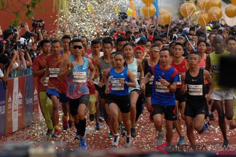 """Borobudur Marathon puncak """"sport tourism"""" 2019"""