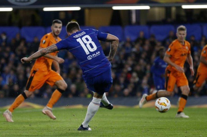 Chelsea hajar habis PAOK di Liga Europa