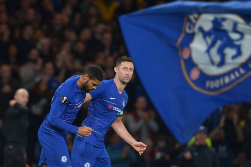 Chelsea berhasil taklukan juru kunci Liga Premier Inggris