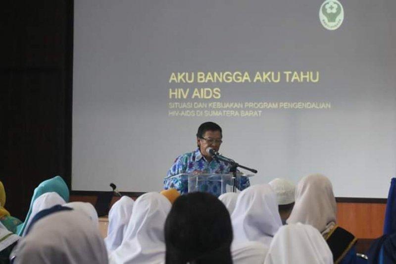 Pemkot Padang Panjang kenalkan HIV/AIDS kepada siswa dan mahasiswa