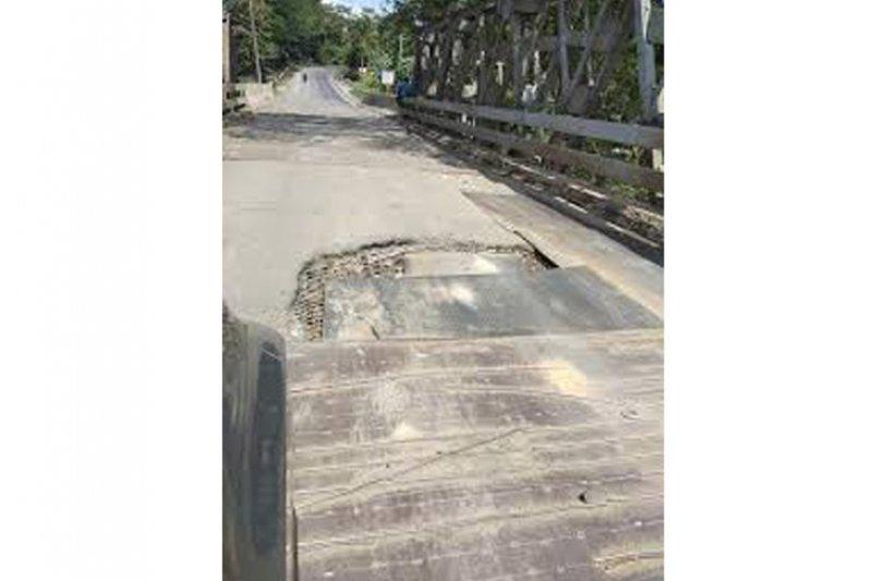 Jembatan Way sudah dapat dilalui kendaraan kecil