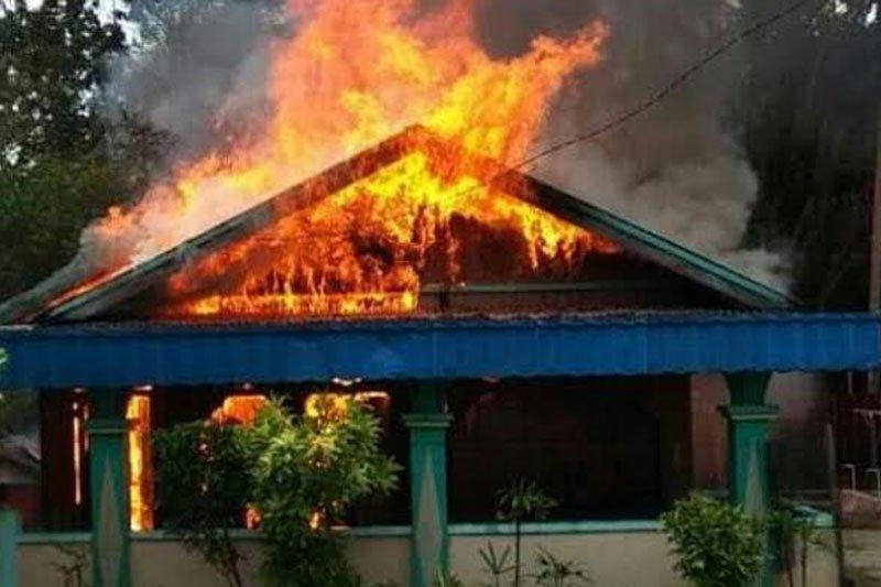 Pria asal Kumai bakar rumah istri siri, ini penyebabnya