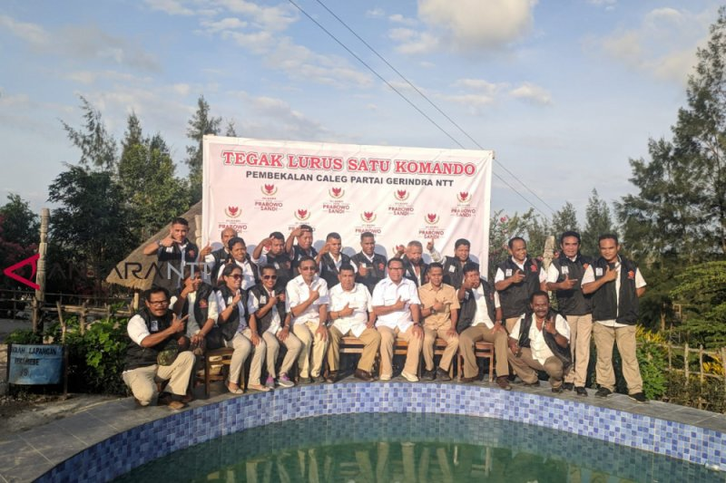 Gerindra NTT bekali calegnya untuk memenangkan Prabowo-Sandi