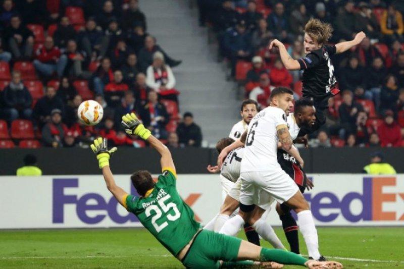 Liga Europa, Leverkusen ditahan imbang Ludogorets 1-1