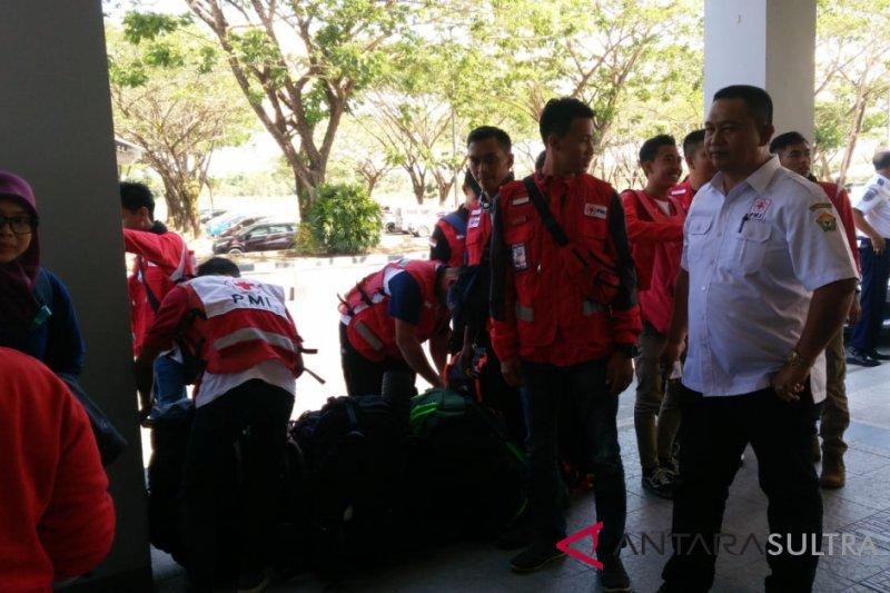 PMI kembali kirim 18 relawan ke palu