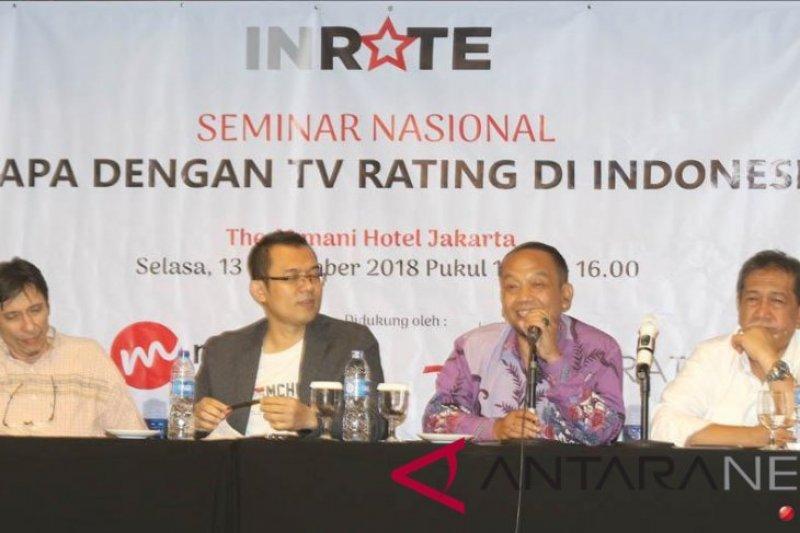 Praktisi ungkap rating televisi miliki banyak kelemahan