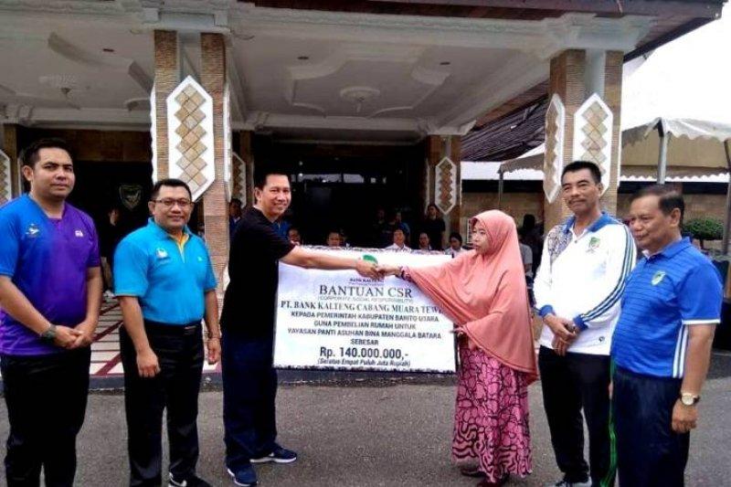 Bank Kalteng serahkan CSR untuk panti asuhan di Muara Teweh