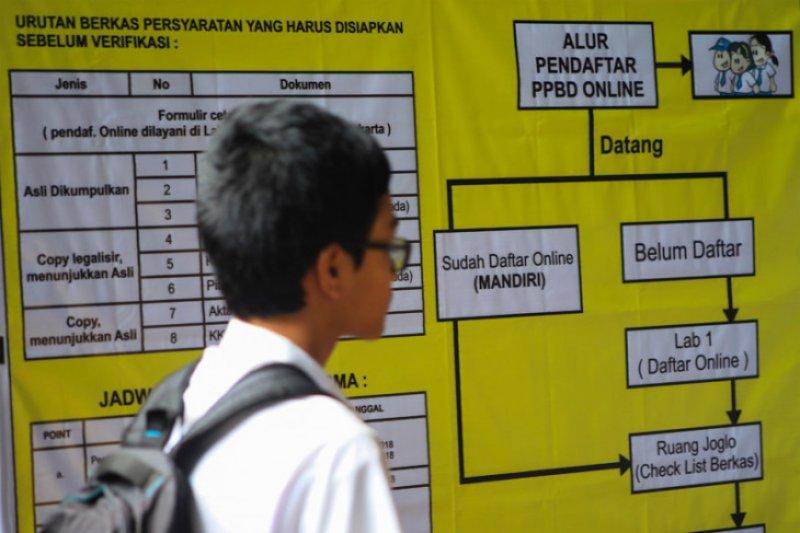 Ingat, calon siswa wajib ambil token saat pendaftaran PPDB daring