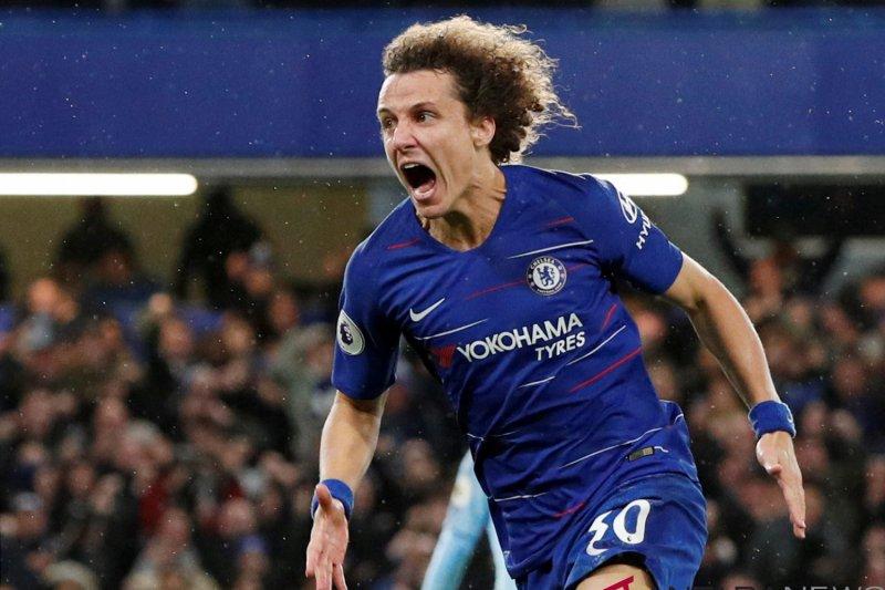 Perpanjangan kontrak David Luiz dengan Chelsea mulai dibicarakan