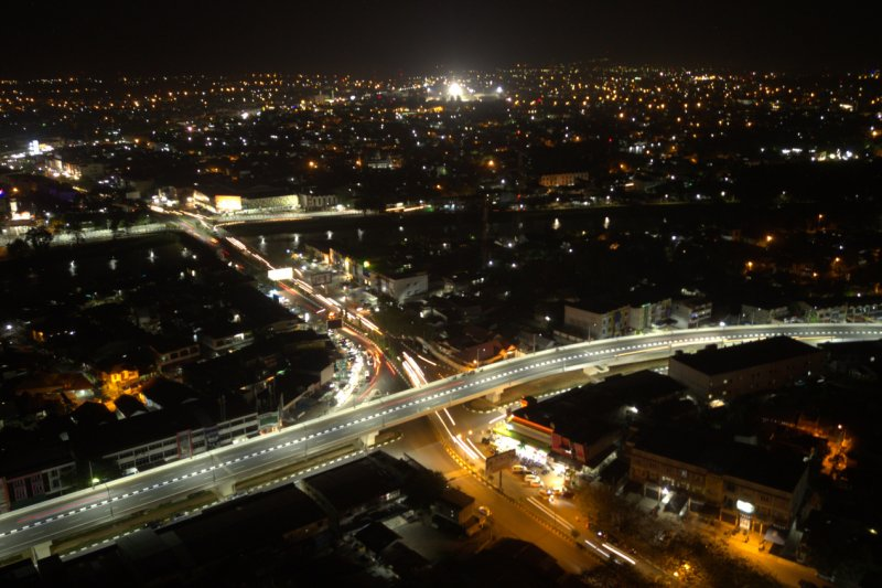 Warga Banda Aceh Nilai Positif Jalan Layang Simpang Surabaya Underpass Beurawe Antara News