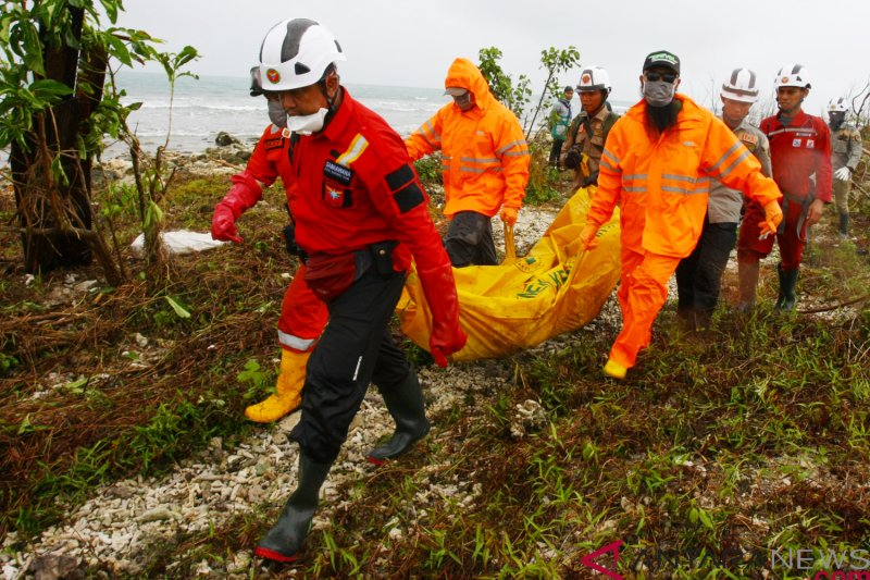Sebagian jasad korban tsunami sudah diidentifikasi