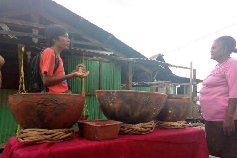 Upaya Kampung Abar mempertahankan kerajinan gerabah