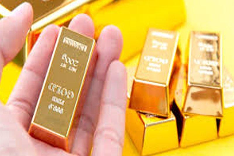Harga emas naik tertinggi sepekan akhir perdagangan Jumat pagi