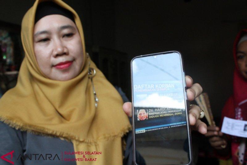Keluarga di Makassar berharap korban penembakan ditemukan