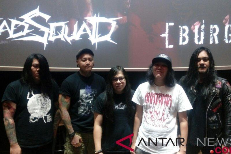 Vokalis band Deadsquad ditangkap polisi karena terlibat narkoba