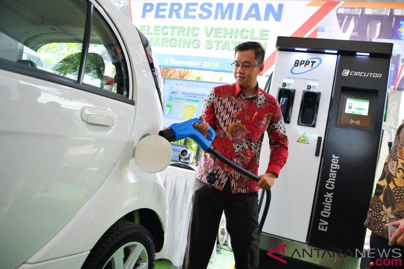 Bppt Miliki Dua Inovasi Fast Charging Station Untuk Mobil Listrik Antara News