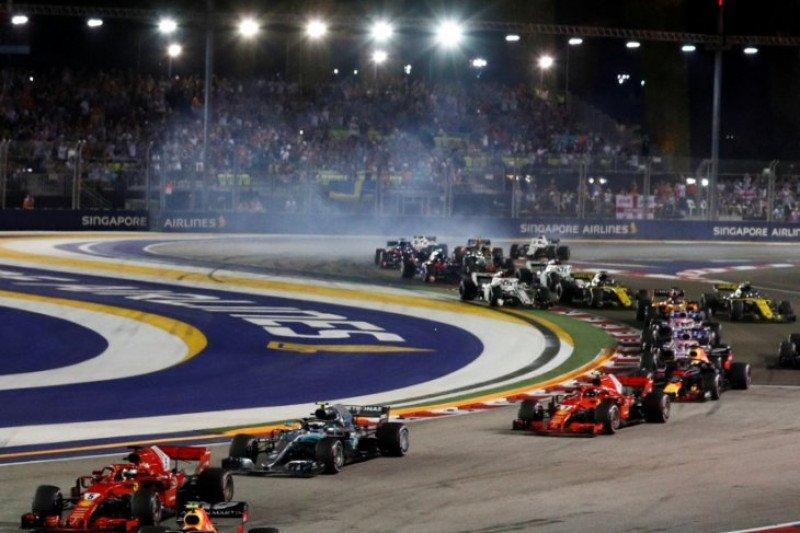 Ini statistik Grand Prix Singapura