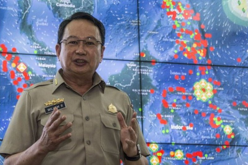 Kepala BNPB geram, banyak berita hoaks tentang tsunami