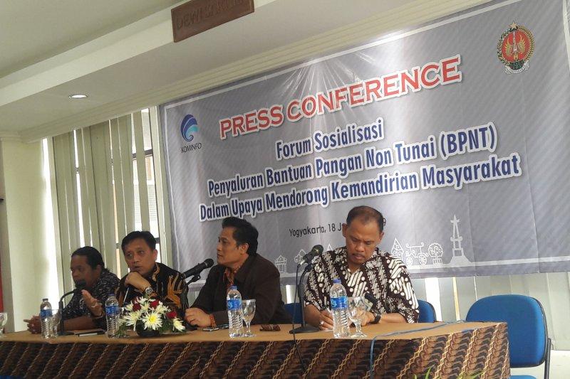 Tambahan usulan penerima BPNT Yogyakarta menunggu kartu