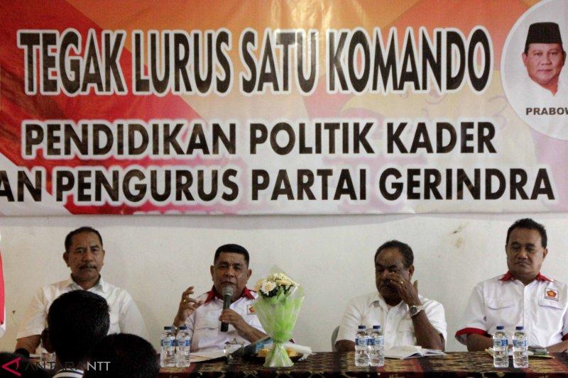 Kader Gerindra harus tonjolkan kampanye damai