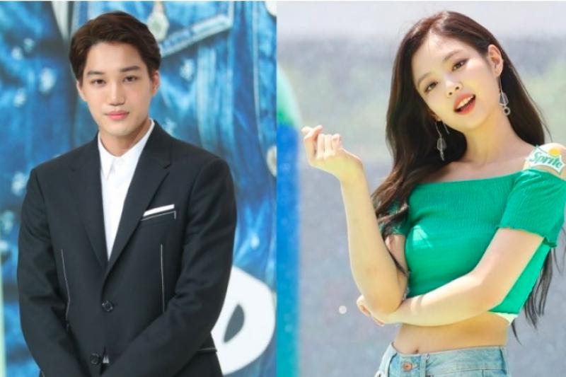 Kai EXO - Jennie Blackpink dikabarkan jalin asmara