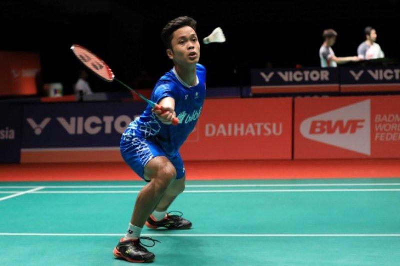 Ginting urung ke babak dua Malaysia Masters usai Dijegal Huang,