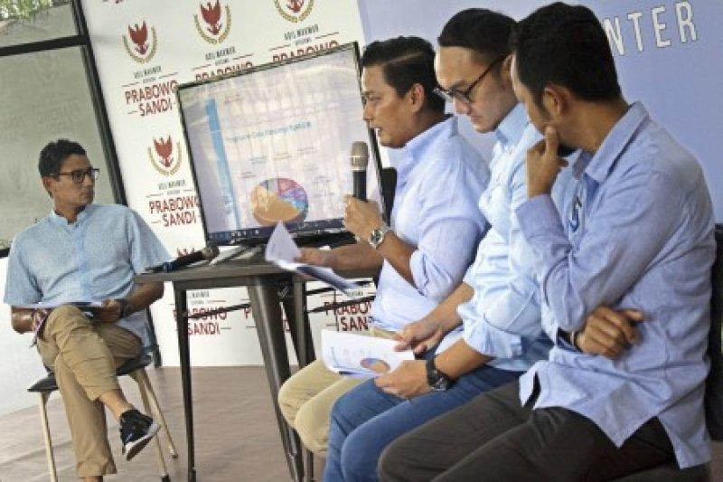 BPN Prabowo/Sandi: pembatalan visi dan misi turunkan kualitas demokrasi
