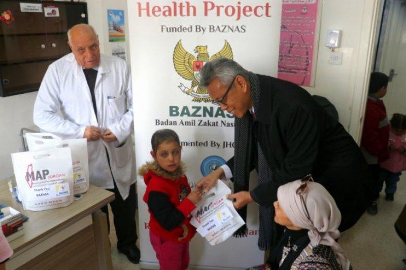 Baznas bantu pengungsi Palestina