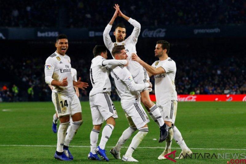 Tendangan bebas Ceballos, Real Madrid tundukkan Betis