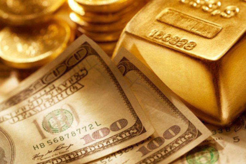 Harga emas berjangka jatuh seiring reli ekuitas AS