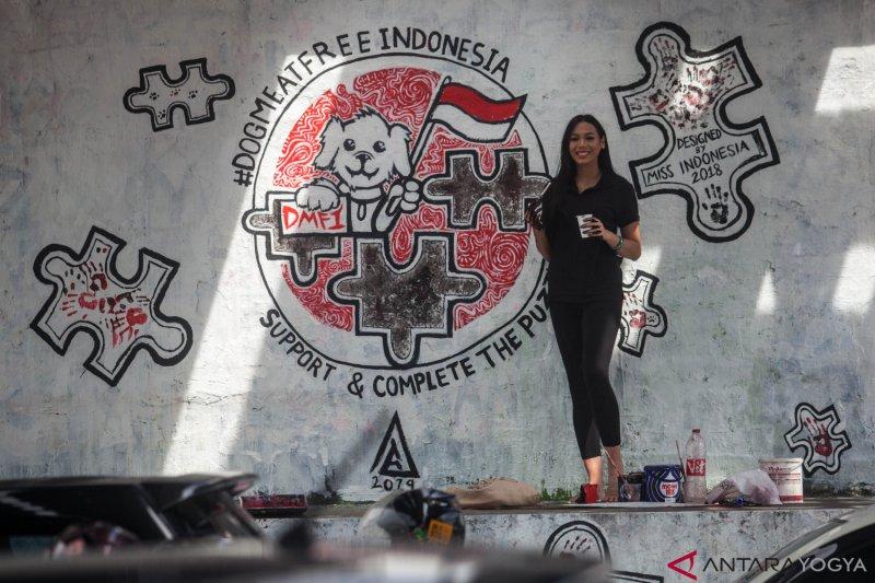 MURAL KARYA MISS INDONESIA 2018