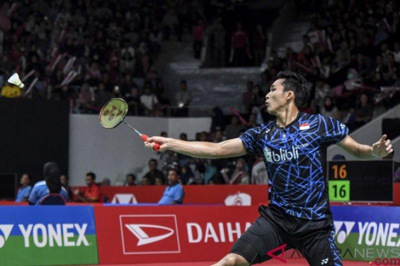 Kalahkan Rasmus, Jojo ke babak dua Indonesia Open 2019