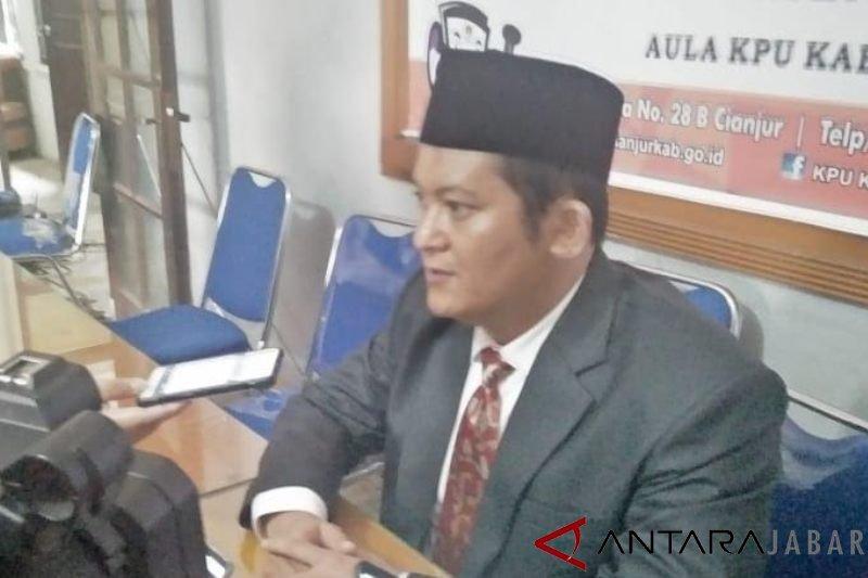 KPU Cianjur sudah menerima sebagian besar logistik pemilu