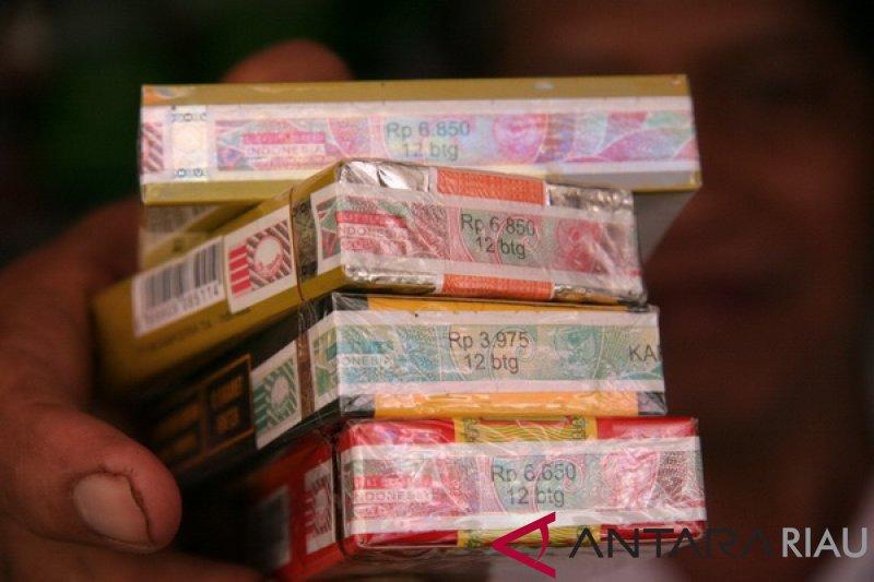 Selama 2018, Realisasi Pajak Rokok Riau Turun Rp8,4 M