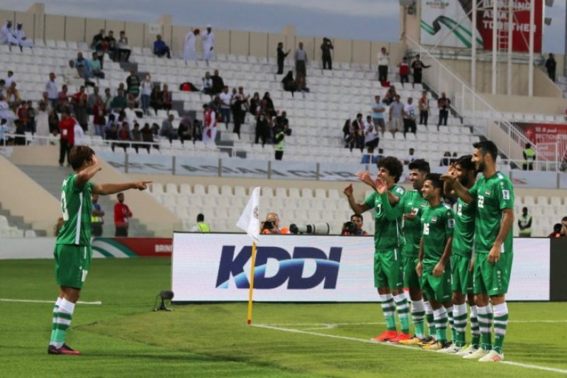 Libas Yaman, Irak melaju ke 16 besar Piala Asia