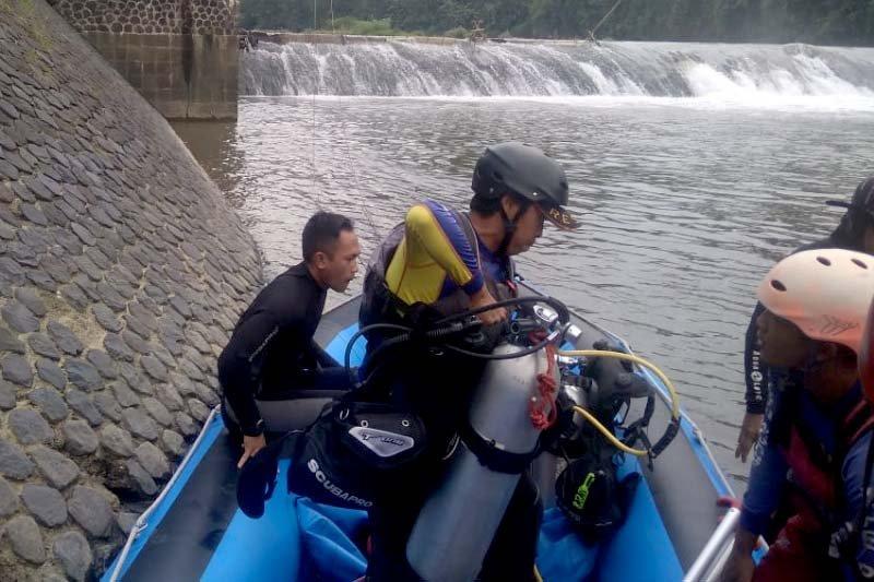 Tim SAR cari korban tenggelam di Sungai Serayu