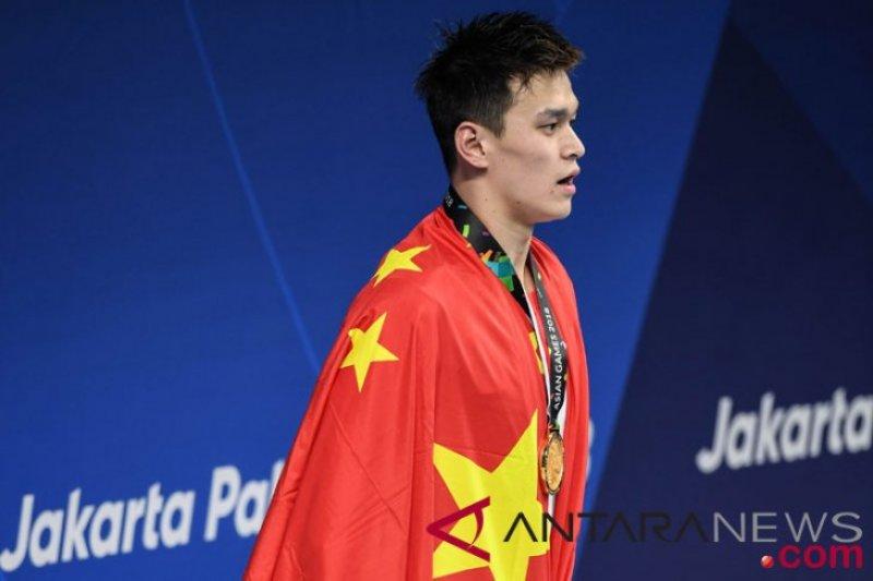 Nasib perenang Sun Yang diputuskan September akibat kasus doping