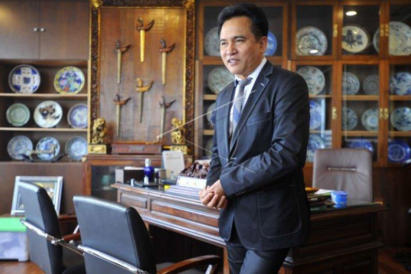 Yusril Ihza: PBB Sultra pertama deklarasi dukung Jokowi-Maruf