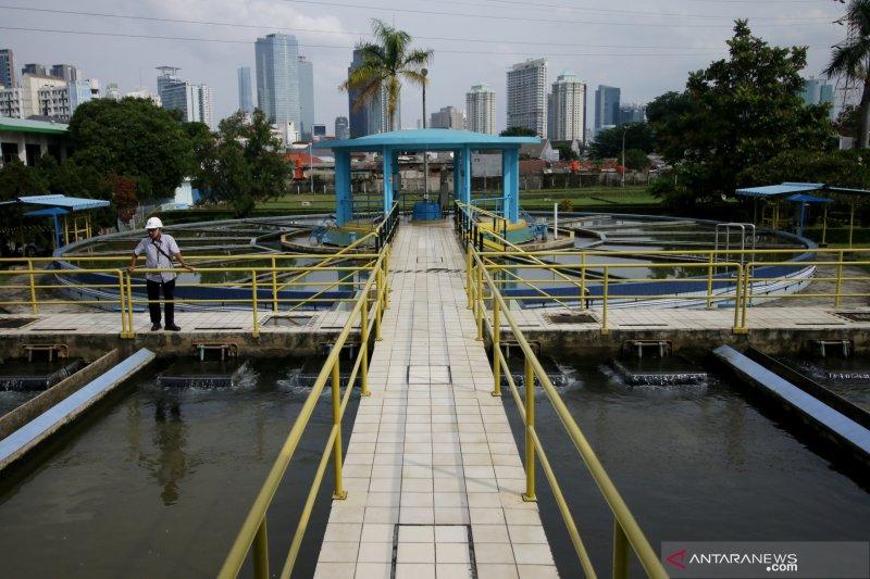 Kapasitas produksi air PDAM Kendari 410 liter/detik