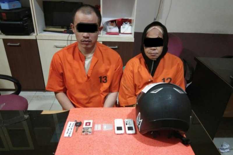Wah, Nenek di Inhil nekat bertransaksi sabu di Pengadilan Negeri Tembilahan