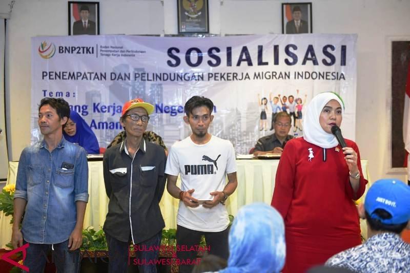 Anggota DPR sosialisasikan perlindungan calon pekerja migran Indonesia