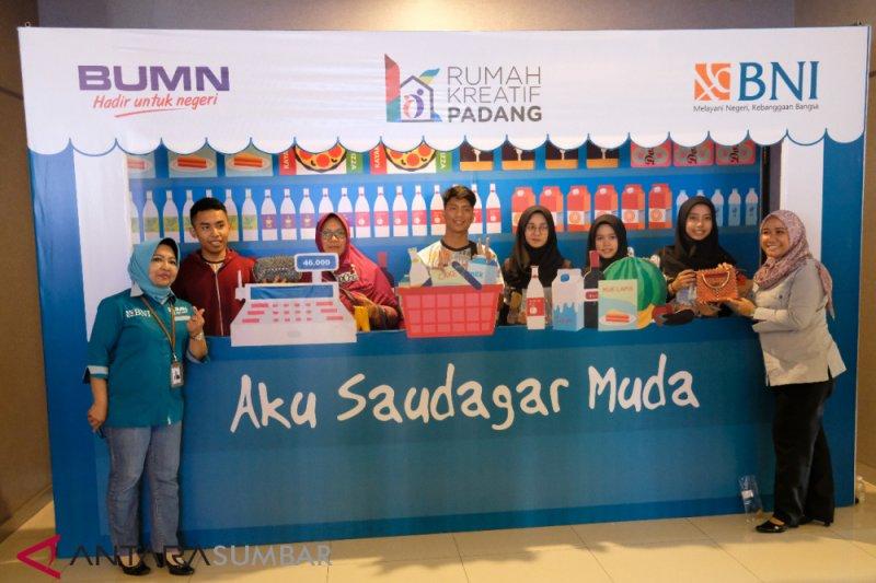 "BNI rintis program ""Aku Saudagar Muda"" di Padang, cetak generasi pengusaha"