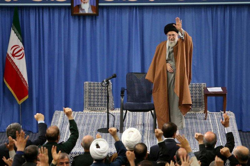 AS jatuhi 9 orang sanksi terkait Ayatollah Ali Khamenei