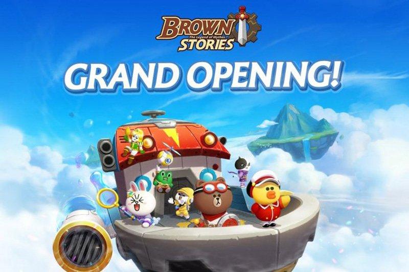 LINE hadirkan Brown Stories games dengan karakter yang menggemaskan