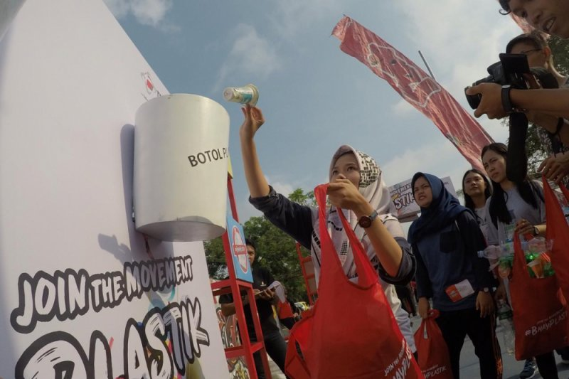 Telkomsel kampanye #BhayPlastik di Pekanbaru