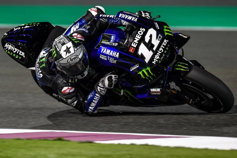 Ungguli Rins, Vinales tercepat hari pertama tes pramusim MotoGP di Qatar